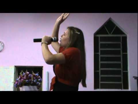 Cantora Éllen Paula_É Hora da Benção em Anhumas