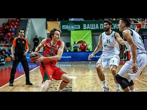 7DAYS EuroCup Highlights: Lokomotiv Kuban Krasnodar-Unicaja Malaga, Game 1
