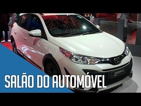 Salão do Automóvel SP 2018 - Novidades da Toyota