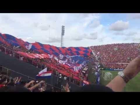 Recibimiento de Cerro Porteño vs olimpia - La Plaza y Comando - Cerro Porteño - Paraguay - América del Sur