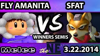 TNE – Fly Amanita (Ice Climbers) Vs. MIOM SFAT (Fox) SSBM Winners Semis: HMW + Phil commentary and clutch  SOPO and #NOPO action