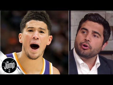 Video: Devin Booker called out by Nick Friedell for not being on Team USA at FIBA World Cup | The Jump