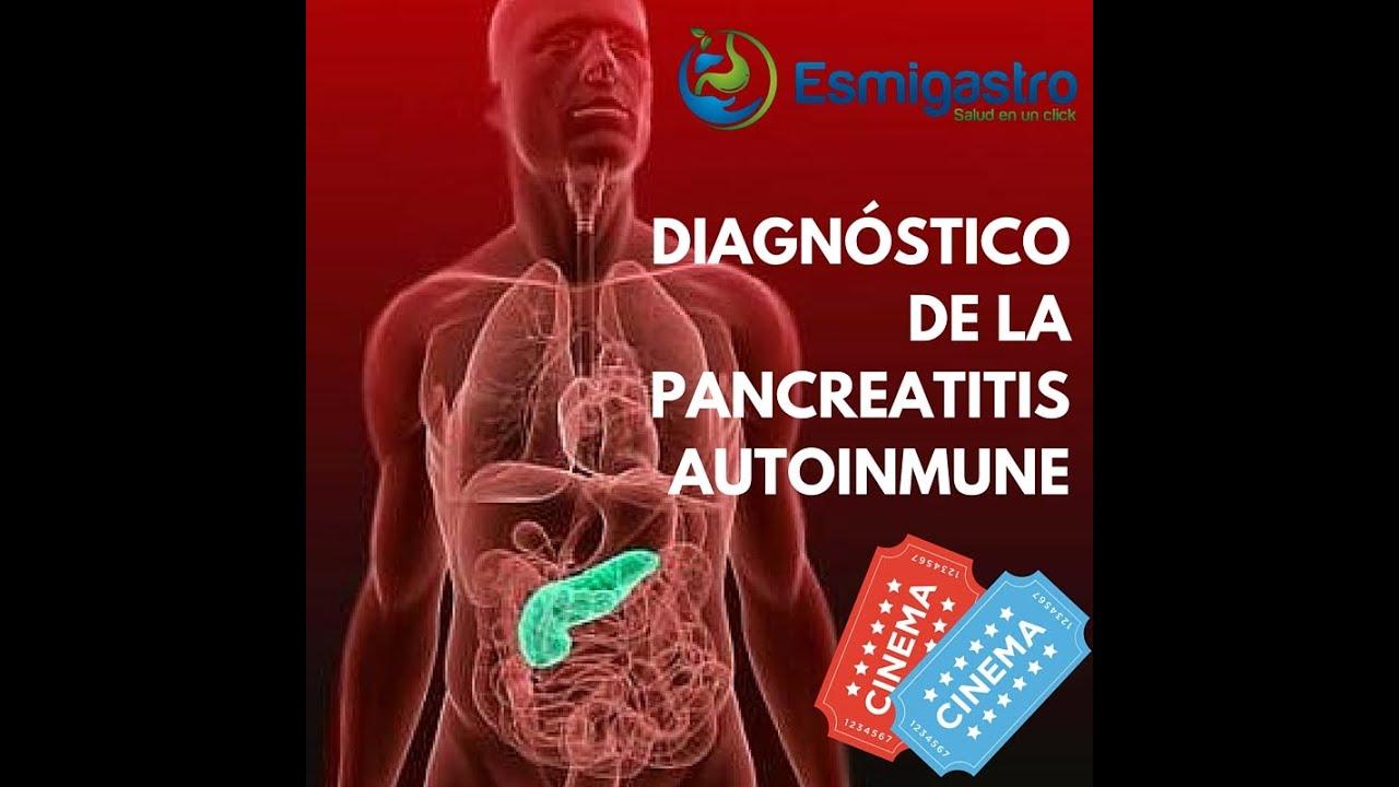 Diagnóstico de la pancreatitis autoinmune