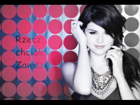 Selena Gomez & The Scene - Crush lyrics