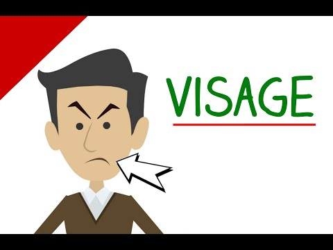 Learn English Words - Visage (Vocabulary Videos with Pictures & Sentence Examples)