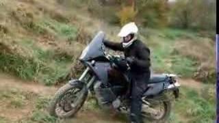 10. KTM 990 Adventure Uphill in Bining/F