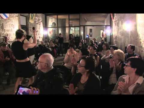 Sara Galimberti MERAVIGLIOSO live 30 settembre 2014 Castello Angioino (Mola di Bari)