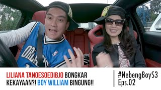 Video Liliana Tanoesoedibjo BONGKAR kekayaan?! Boy William bingung! - #NebengBoy S3 Eps. 02 MP3, 3GP, MP4, WEBM, AVI, FLV Mei 2019