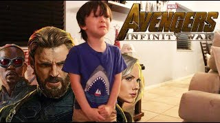 Video My 4 Year Old Reacts to the Avengers Infinity War Trailer MP3, 3GP, MP4, WEBM, AVI, FLV Desember 2017