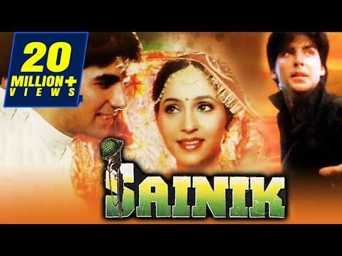 Sainik (1993) Full Hindi Movie | Akshay Kumar, Ashwini Bhave, Farheen, Ronit Roy