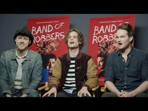 Band of Robbers: Aaron Nee, Matthew Gray Gubler Exclusive Interview | ScreenSlam