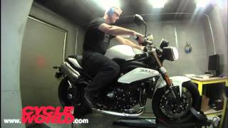 8. 2011 Triumph Speed Triple Dyno Review