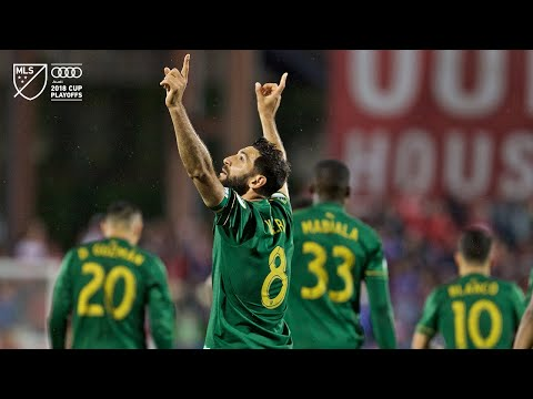 Video: Diego Valeri | Dallas 1, Timbers 2 | Audi MLS Cup Playoffs | Oct. 31, 2018