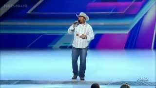 The X Factor USA 2012 - Tate Stevens's Audition