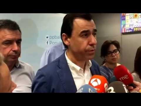 Mart�nez Maillo traslada felicitaci�n de Rajoy a PPBalears por resultados del #26J