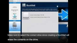 How to create a BootWell Drive using Drive Genius
