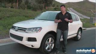 2012 Volkswagen Touareg Test Drive&SUV Review