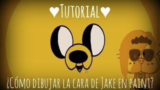 ¿Cómo Dibujar A Jake El Perro En Paint?/ Hora De Aventura♥/ Hey!Coli De Mg