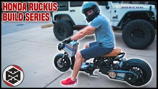 2. FIRST RIDE on a 150cc GY6 HONDA RUCKUS!!