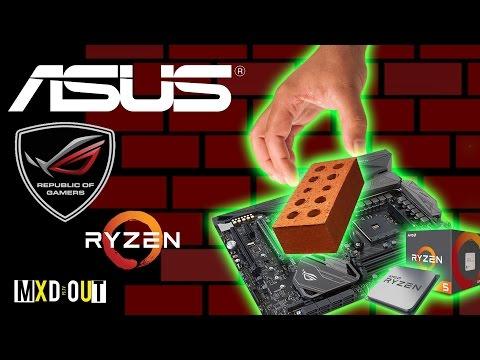 OVERCLOCK GONE WRONG! Asus Crosshair VI Hero Ryzen 5 1600X