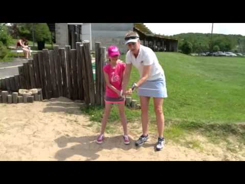 Junior Golf Lessons: Sand