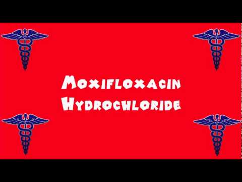 Pronounce Medical Words ― Moxifloxacin Hydrochloride