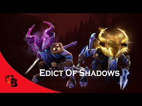 Dota 2: Store - Riki - Edict Of Shadows [Immortal] (видео)