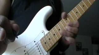Amerie Guitar cover by chucky DEANES