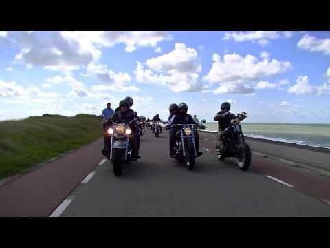 Het mooie leven van een motorrijder