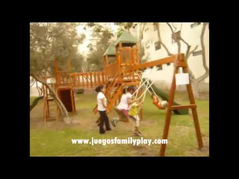 Juegos infantiles para Parques - Juegos Recreativos Infantiles Family Play