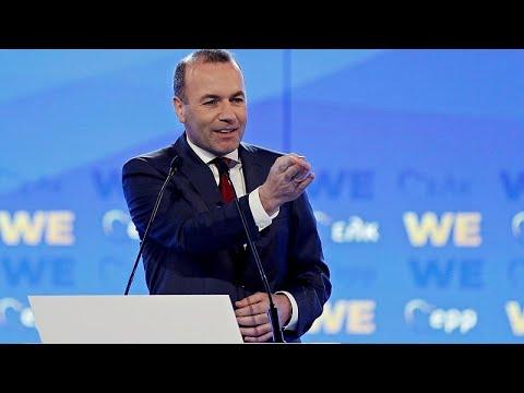 Μ. Βέμπερ στο euronews: Θα υπερασπιστούμε την Ευρώπη ενάντια στους εθνικιστές…