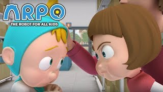 Video ARPO The Robot For All Kids - Baby Rivalry | Compilation | Videos For Kids Videos For Kids MP3, 3GP, MP4, WEBM, AVI, FLV Mei 2019