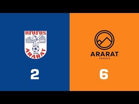 Арарат - Ararat-Armenia 2:6. Видеообзор матча 26.04.2019. Видео голов и опасных моментов игры
