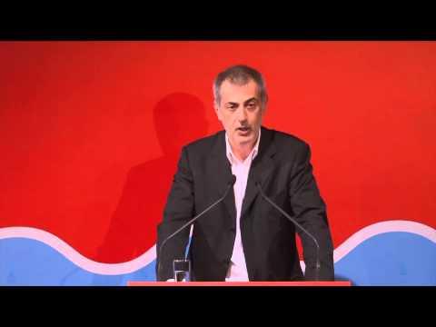Ο Γιάννης Μώραλης παρουσιάζει στα Καμίνια την ιδρυτική διακήρυξη του συνδυασμού «Πειραιάς Νικητής»