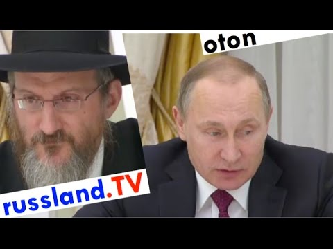 Putin auf Deutsch: Angebot an Juden