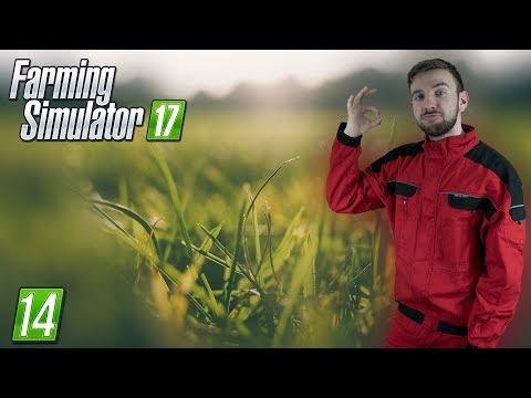 JDEME SEKAT TRÁVU | Farming Simulator 17 #14