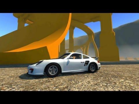 Porsche 911  crash!!