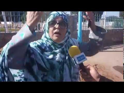 فيديو..مواطنة تعري واقع الصحة بطانطان