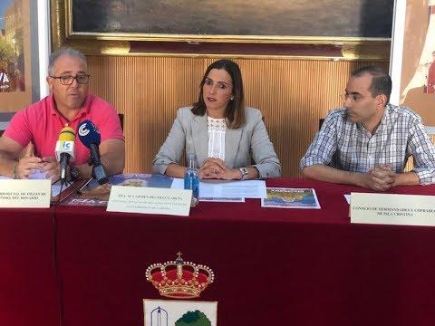 Presentación Fiestas del Rosario de Isla Cristina 2019.