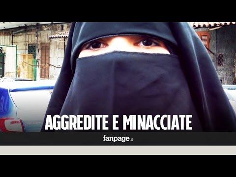 donne islamiche in italia minacciate e aggredite perchè musulmane
