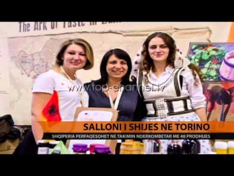 40 prodhues nga Shqiperia ne Sallonin e Shijes ne Torino