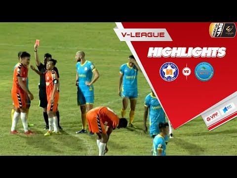 Ghi bàn và nhận thẻ đỏ, Đỗ Merlo giúp SHB Đà Nẵng giành 3 điểm trước Khánh Hòa | VPF Media - Thời lượng: 5:47.