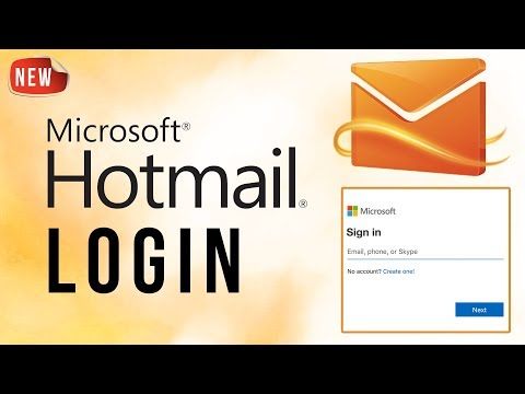 Hotmail Login 2018 || Hotmail.com Sign In || Hotmail Email Login
