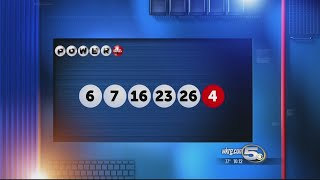 Powerball numbers were selected Wednesday night. Here are the numbers: 6, 7, 16, 23, 26 Powerball: 4.