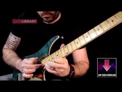 Melodic Minor Tapping Guitar Lesson With Richard Daudé | Licklibrary