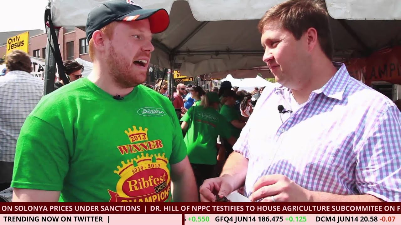 Bacon Network News at Ribfest Chicago 2014: Mrs. Murphy & Sons