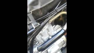 10. 2007 Honda Recon 250 ticking from cylinder head