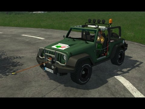 Jeep Wrangler v1.02 Forest Edition