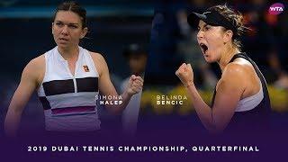 Video Simona Halep vs. Belinda Bencic | 2019 Dubai Quarterfinal | WTA Highlights MP3, 3GP, MP4, WEBM, AVI, FLV Februari 2019