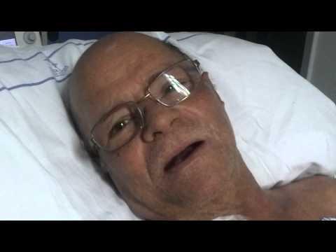Pos operatorio transplante de pulmao de walter rocha em Porto Alegre RS 4 agosto 2012